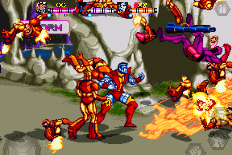 Screenshot X-Men Review
